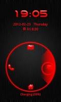 Screenshot of Go Locker Theme Red Tech