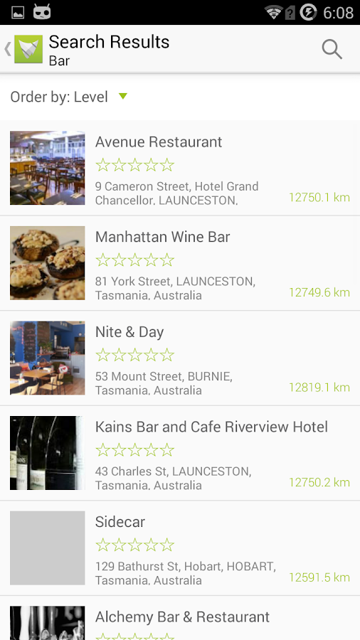 Tasmanian Food Guide- screenshot