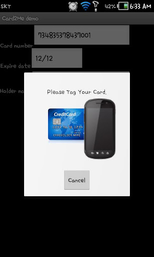 Card2Me - demo