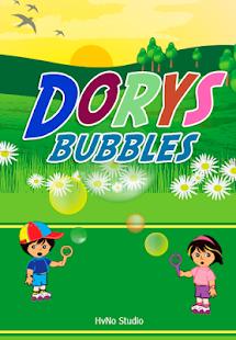 Dorys the Explorer Bubbles