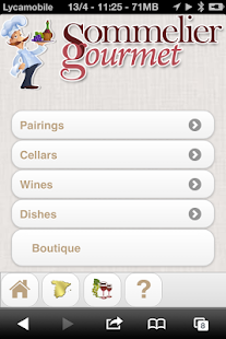 Sommelier Gourmet - screenshot thumbnail