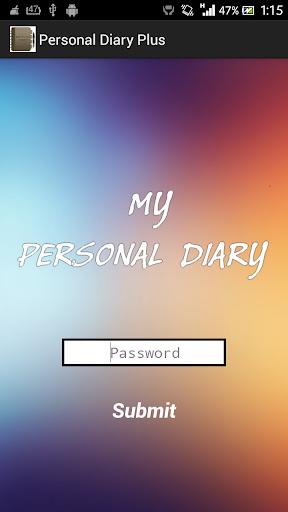 Personal Diary Plus