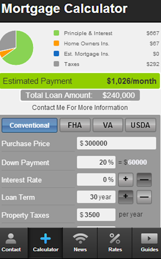 Wade Lewis' Mortgage Mapp