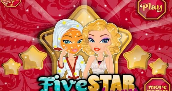 五星化妝水療沙龍禮服,髮型,珠寶和化妝品