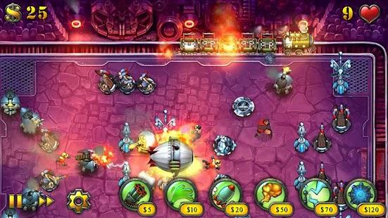 Fieldrunners HD – Miniaturansicht des Screenshots