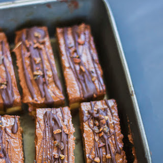 Peanut Butter Chocolate Mousse Slice