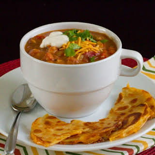 Refried Bean Soup.