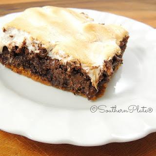 5 Min Prep S'Mores Brownies