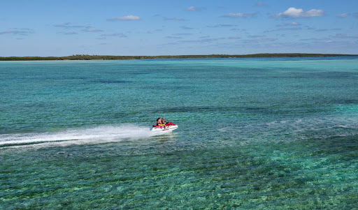 jetski-in-Coco-Cay - Take a jetski out for your own private tour of CocoCay in the Bahamas.