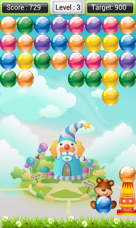 Bubble Shooter- screenshot