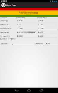 Ghana Forex - screenshot thumbnail