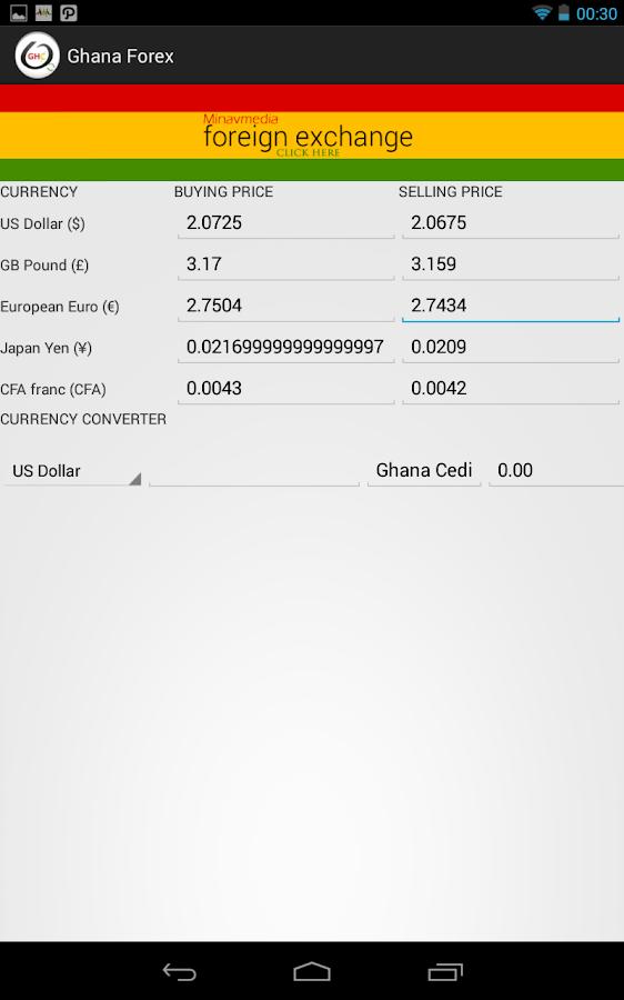 Ghana Forex - screenshot