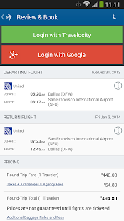 Travelocity - Flight+Hotel+Car - screenshot thumbnail