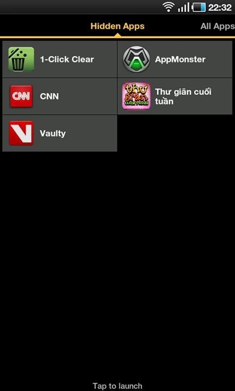 Hide Apps Trial - Root- screenshot