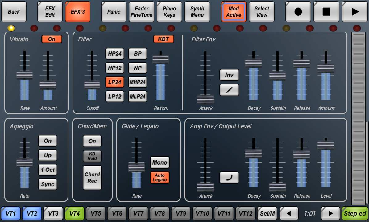 G-Stomper Beat Studio - screenshot