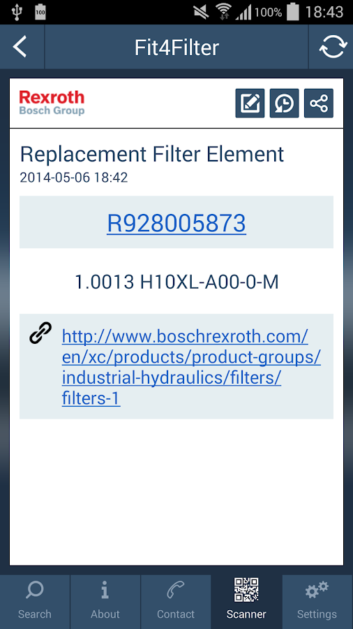 Fit4Filter - screenshot
