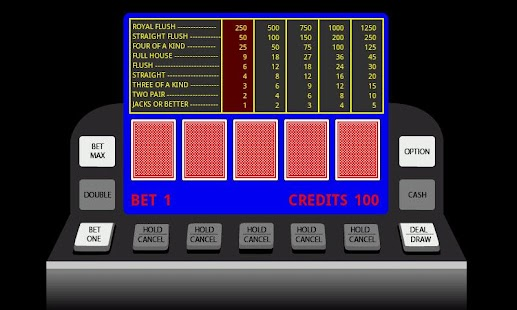 Poker Video Machine - screenshot thumbnail