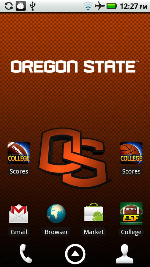 Oregon State Live Wallpaper HD - screenshot
