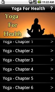 Yoga for Health - screenshot thumbnail