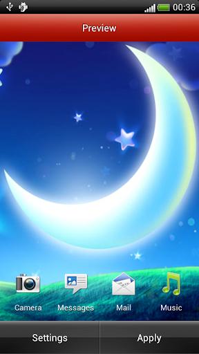 玩旅遊App|草原夜空動態壁紙免費|APP試玩