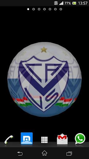Ball 3D Vélez Sarsfield LWP