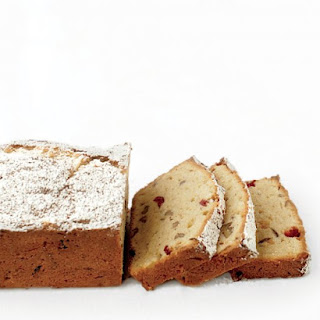 Gluten-Free Pound Cake with Cranberries.