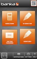 Screenshot of Banka IN