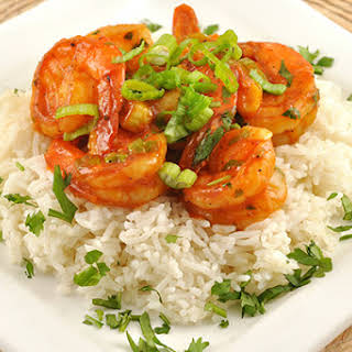 Shrimp with Curried Tomato Sauce.