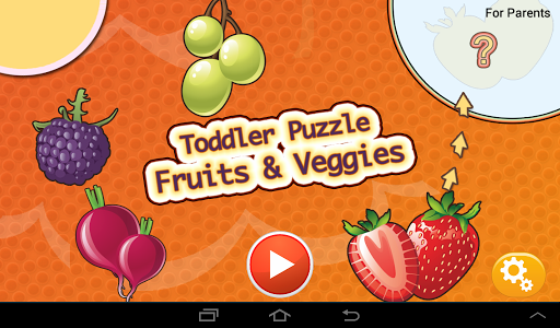 Toddler Puzzle Fruits