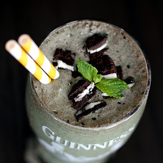 Mint Cookies and Stout Shake