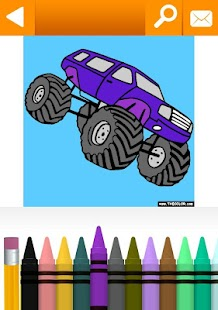 Vehicles Coloring Book Free - screenshot thumbnail