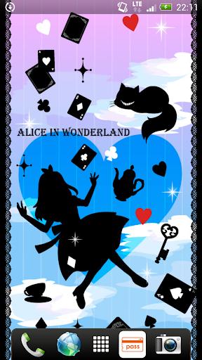 Aliceシリーズ☆ シルエット ライブ壁紙