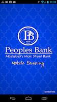 Screenshot of Peoples Bank-Mississippi