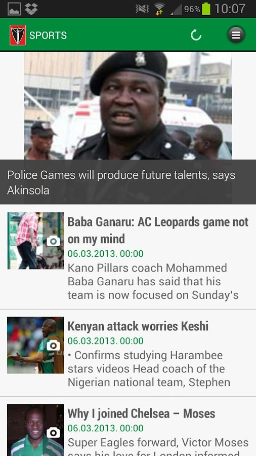 The Nation (Nigeria) - screenshot