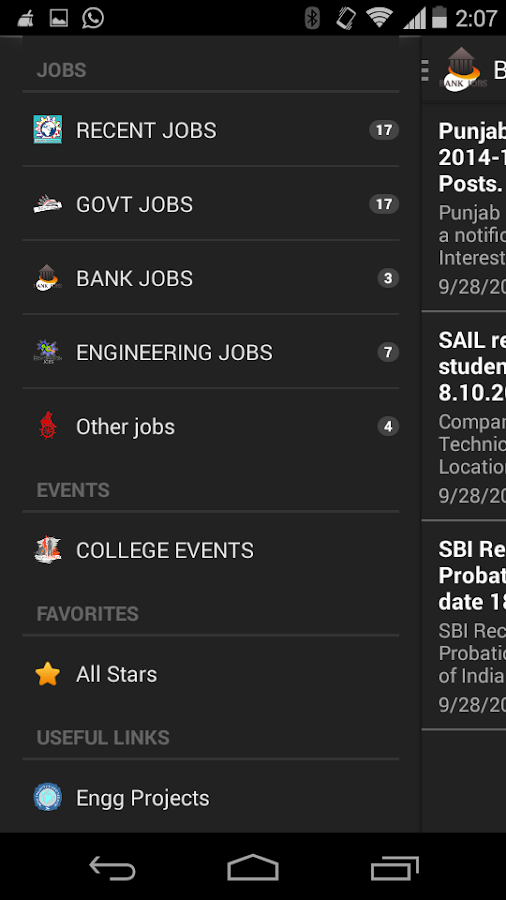 Jobs360- screenshot