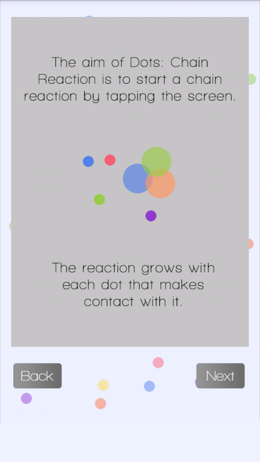 Dots: Chain Reaction - screenshot