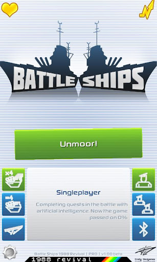 Battle Ships 1988 Revival Pro
