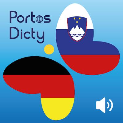 PortosDicty German Slovenian