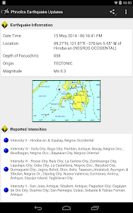 PH Weather And Earthquakes screenshot 11