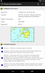PH Weather And Earthquakes - screenshot thumbnail