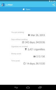 Quit smoking - QuitNow! - screenshot thumbnail