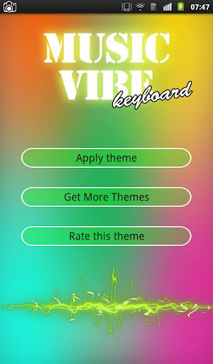 Music Vibe Keyboard