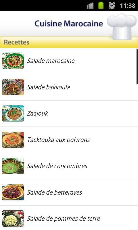 Cuisine marocaine android apps on google play for Google cuisine