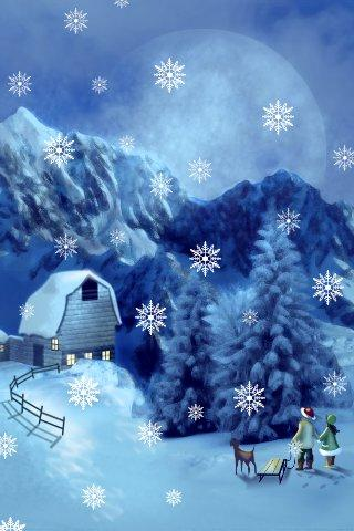 Christmas Wallpaper Lite- screenshot