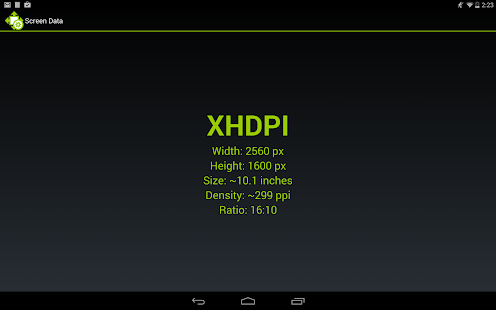 Screen Size and Density