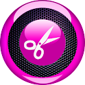 Reproductor de mp3 y cuchillas icon