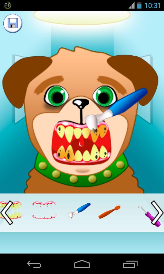 animal dentist games - screenshot