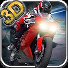 摩托车赛3D快速驾驶 icon