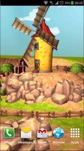Cartoon Farm 3D Live Wallpaper screenshot 2