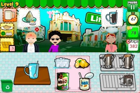 Kopi Tiam Mini - Cooking Asia!- screenshot